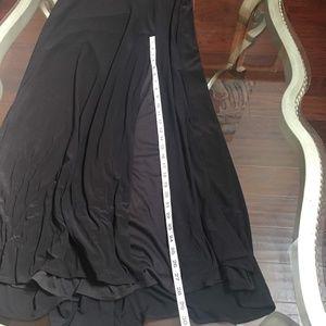 David's Bridal Dresses - David's Bridal Black Mesh Special Occasion Dress